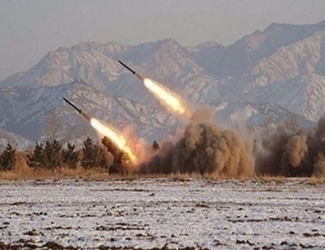 Две ракети бяха изстреляни по иракска база, в която са