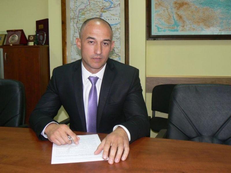 Директорът на областната дирекция на МВР-Враца ст. комисар Янко Янколов