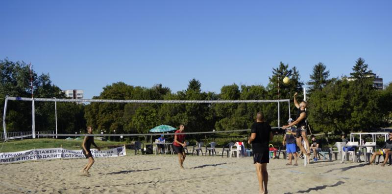 Започна благотворителният турнир по плажен волейбол във Видин