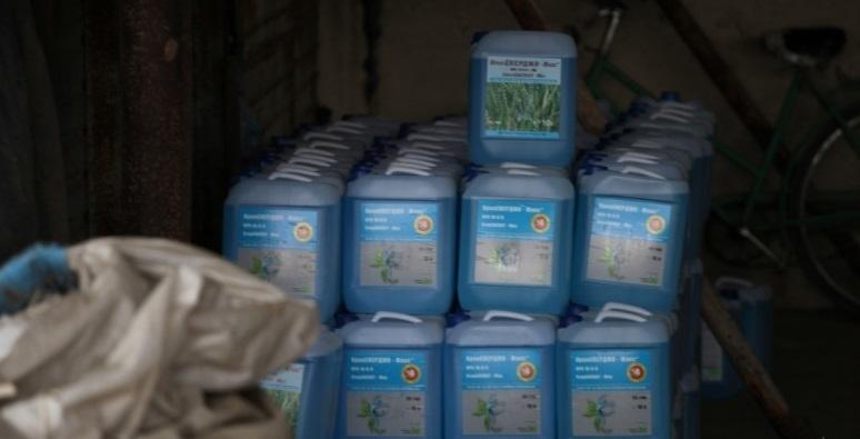 Крадци са задигнали близо 150 литра препарат за растителна защита