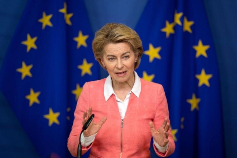Председателката на Европейската комисия Урсула фон дер Лайен заплаши днес