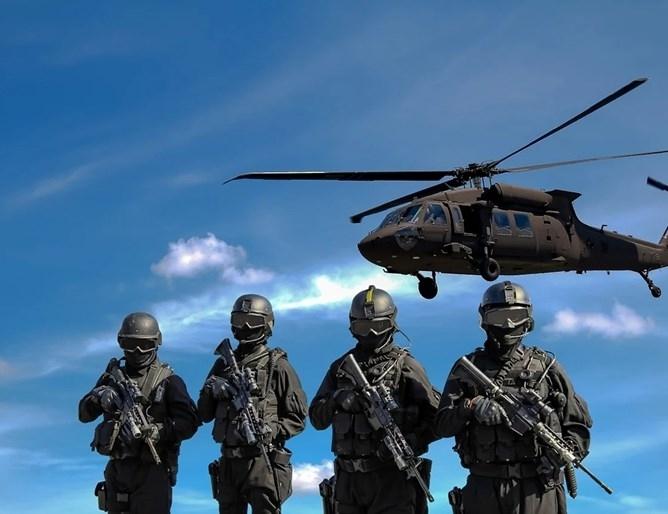 Американската армия е изпратила около 1600 войници във военни бази