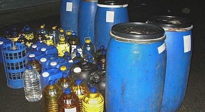 271 литра етилов алкохол с мирис на ракия, без документи