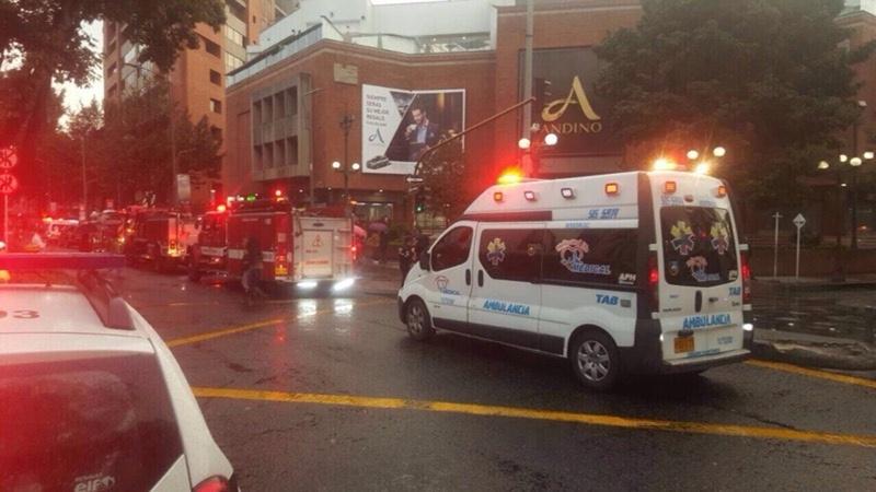 Снимка: 21 души загинаха при атентат в Богота