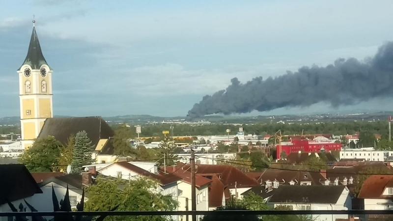 Eксплозия избухна до летището в Линц