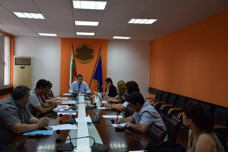 Днес в Областна администрация Видин се проведе първо заседание на