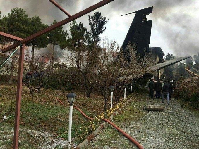 """Пътнически самолет """"Боинг 737"""" на украинските авиолинии със 180 души"""