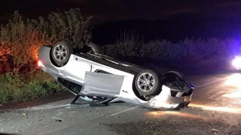 Кола е катастрофирала край Монтана, съобщиха от областната дирекция на