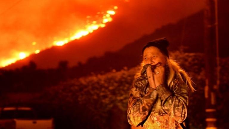 Най-малко 630 души се водят изчезналипри пожарите в американския щат