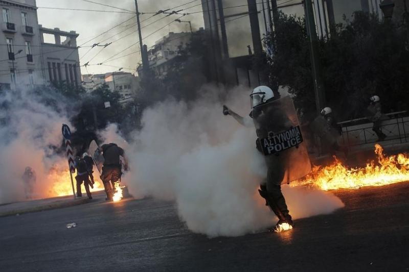 Протести, насилие и напрежение в Гърция /снимки/