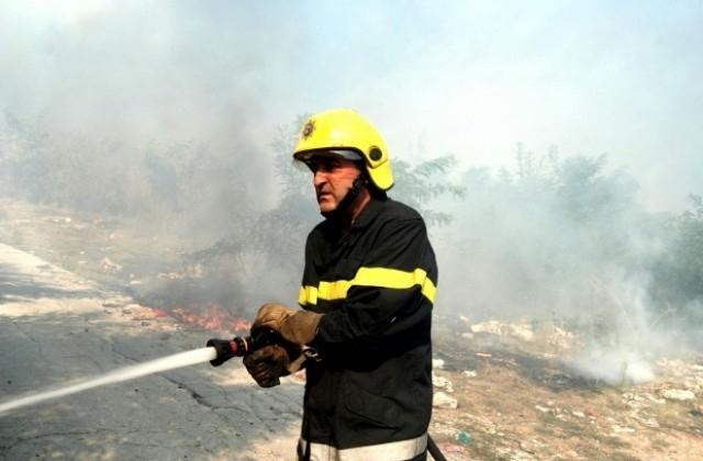 Склад за дърва е горял вчера в Лом, съобщиха от