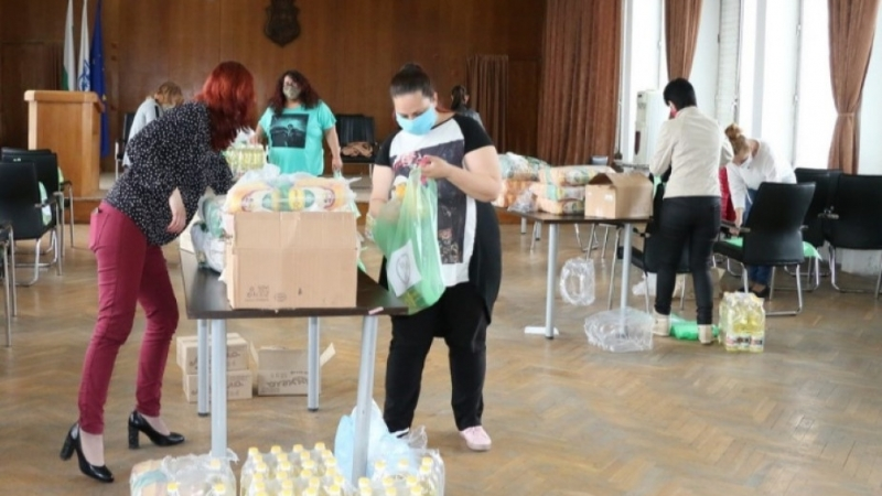 Дариха хранителни продукти за нуждаещи се от община Видин