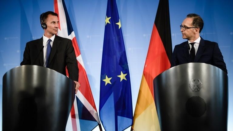 Британският външен министърДжереми Хънт обяви, че съществуваопасност за невъзможност за