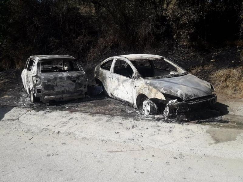 Два леки автомобилаизгоряха миналата нощв разложкото село Годлево. На 12
