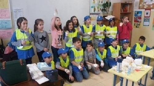 Детско полицейско управление във Вършец се запозна с работата на