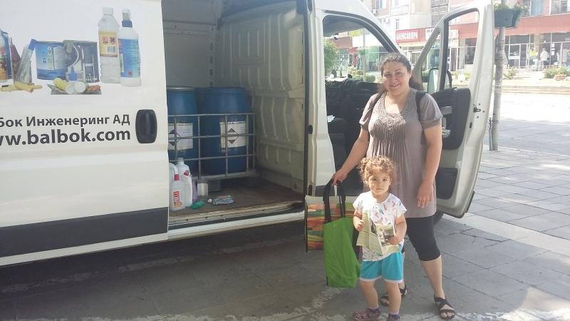 Въпреки, че стартираме инициативата за пръв път в Козлодуй, пожънахме