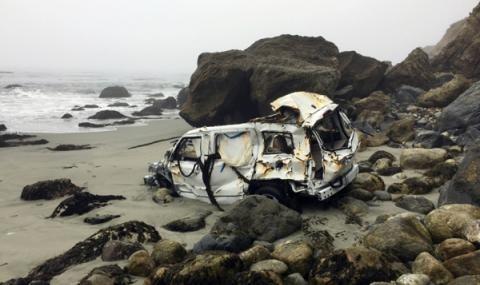 23-годишна американка оживя по чудо, след като падна с автомобила