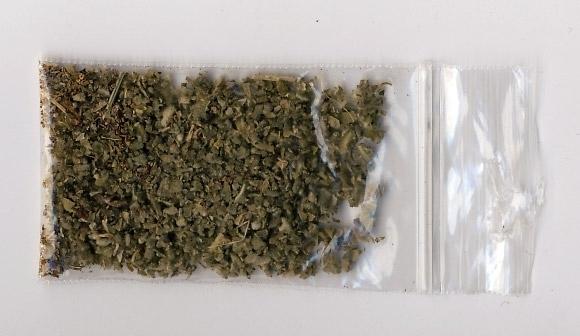 Полицията е открила билка за пушене в младеж във Враца,