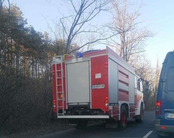 Тежка катастрофа затвори преди минути международния път Е-79 между Мездра