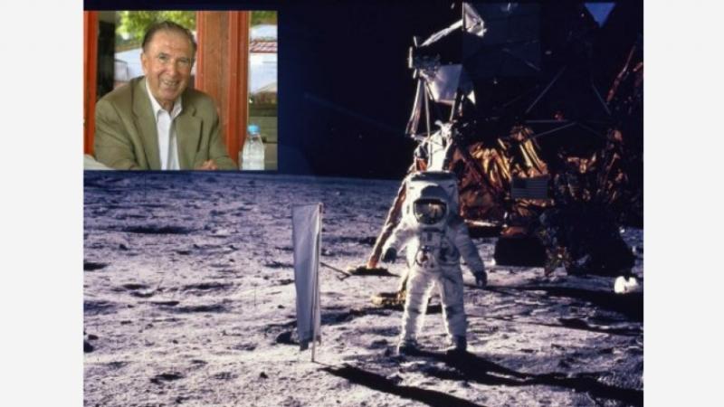 """15-метров макет на """"Аполо 11"""" ще посреща посетителите в бъдещия"""