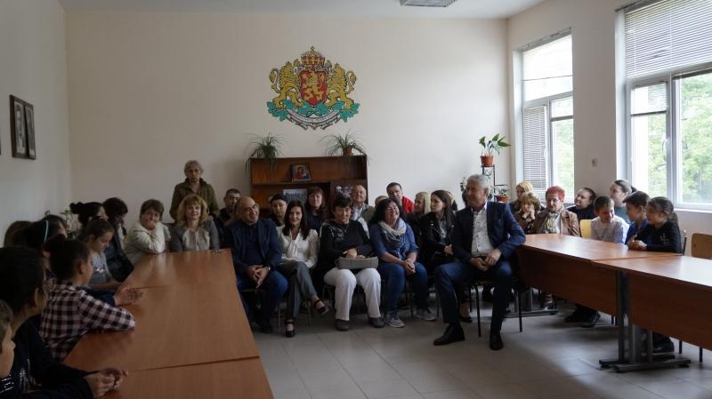 "Учениците от IV ""б"" клас при ОУ ""Христо Ботев"" в"
