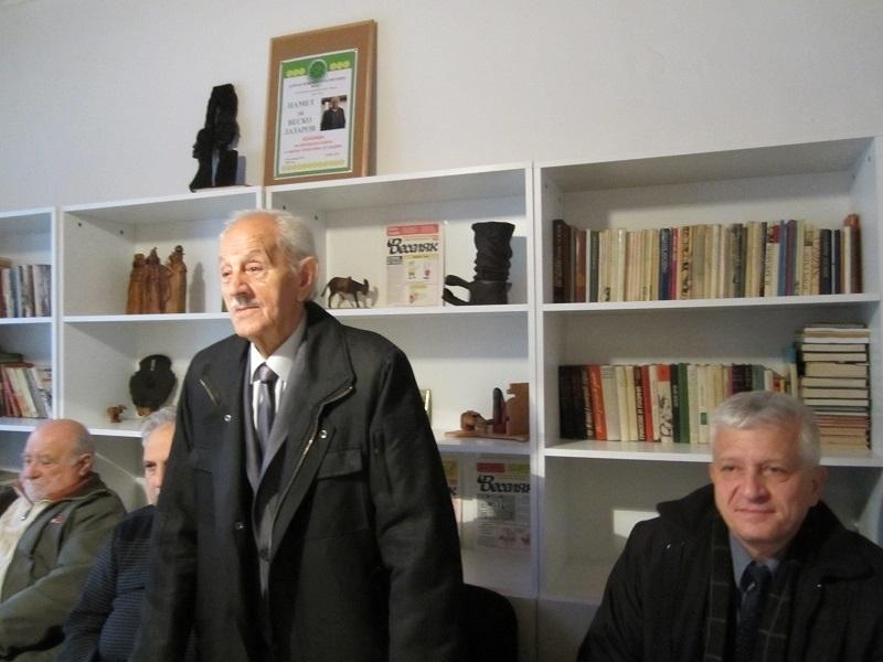 Клубът на дейците на културата във Враца отбеляза юбилей на Герго Чернев