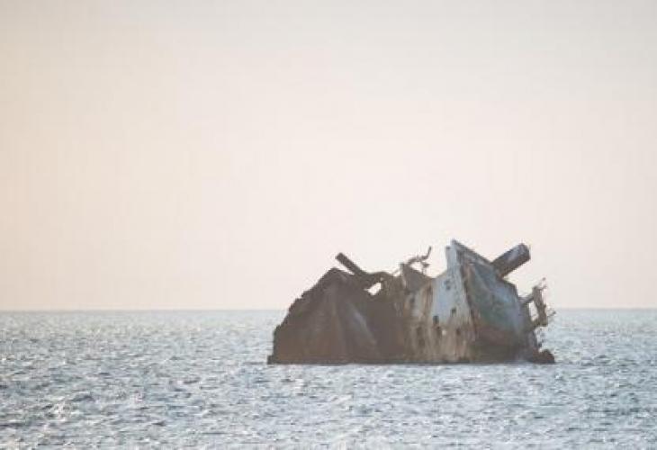 """Турският товарен кораб """"Хакса"""" е претърпял авария в района на"""