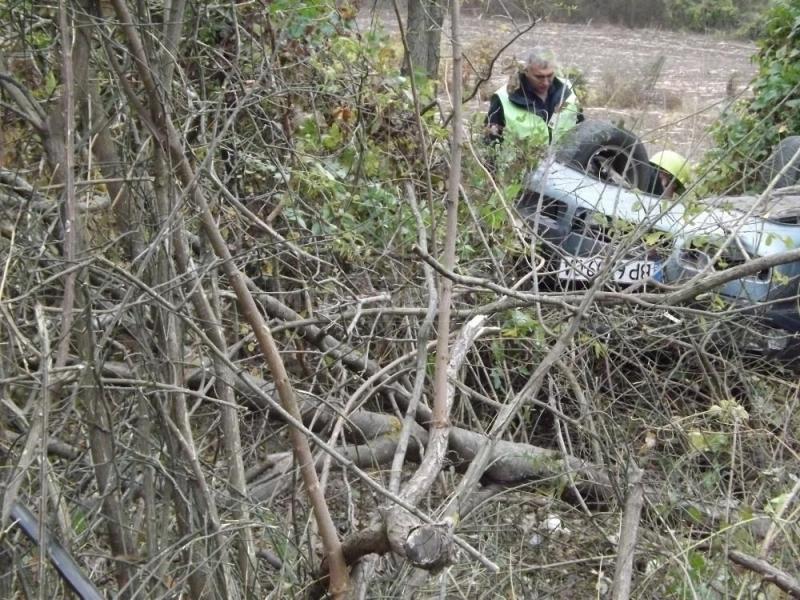 Шофьорът на катастрофиралия автомобил край Мездра е бил пиян