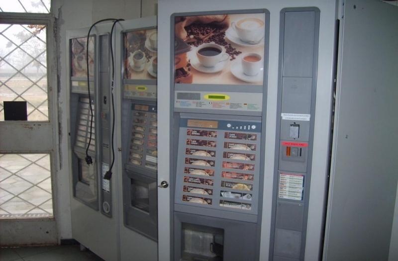 Издирват бандит, разбил автомат за кафе