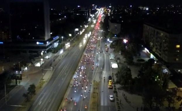 Грандиозно шествие на мотористи в София - над 7000 водачи