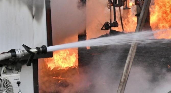 36-годишен мъж е загинал при пожар в село Одърне. Това