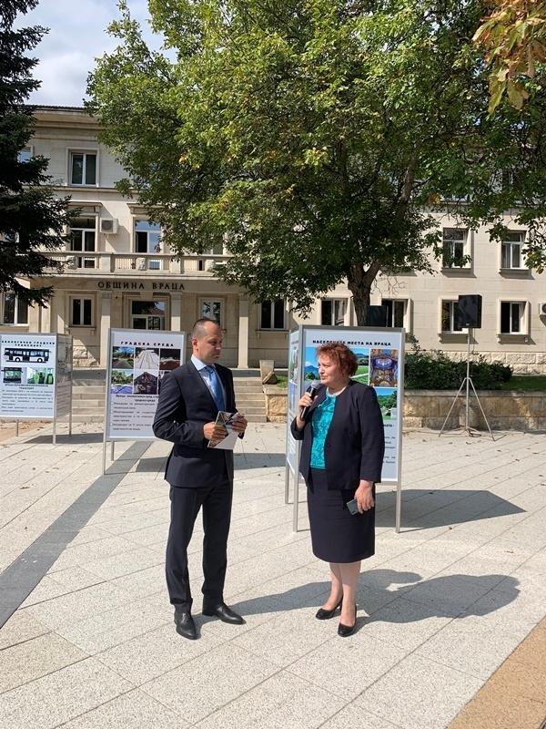 Областният управител Малина Николова присъства днес на представянето на отчета