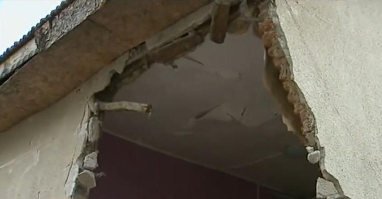 Семейството от врачанското село Борован, в чиято къща се вряза