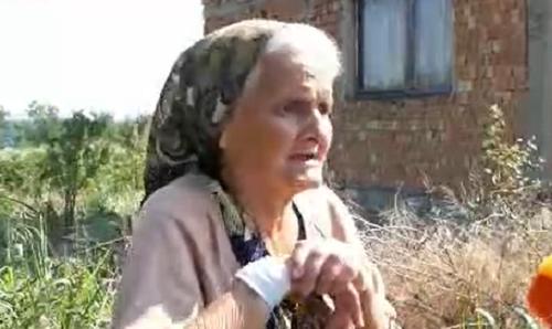 72-годишната Карамфила Флорова от видинското село Гомотарци е принудена да