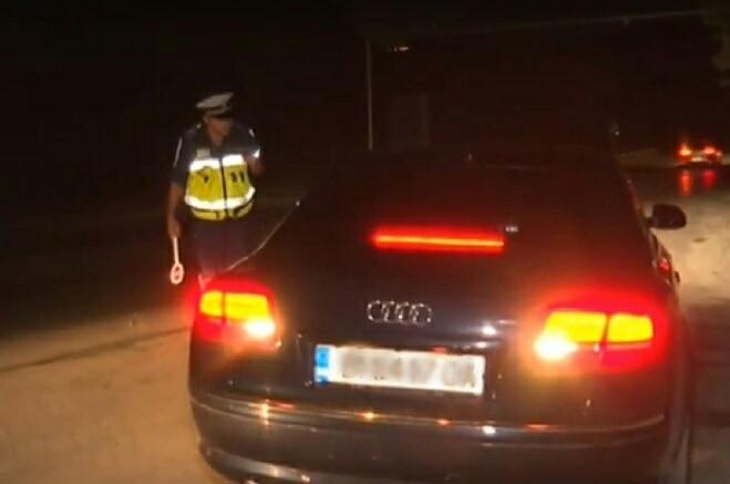Напушен младеж е бил заловен зад волана от униформени служители,