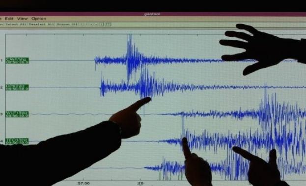 Земетресение с магнитуд 4бе регистрирано днес сутринта в провинция Катандзаро