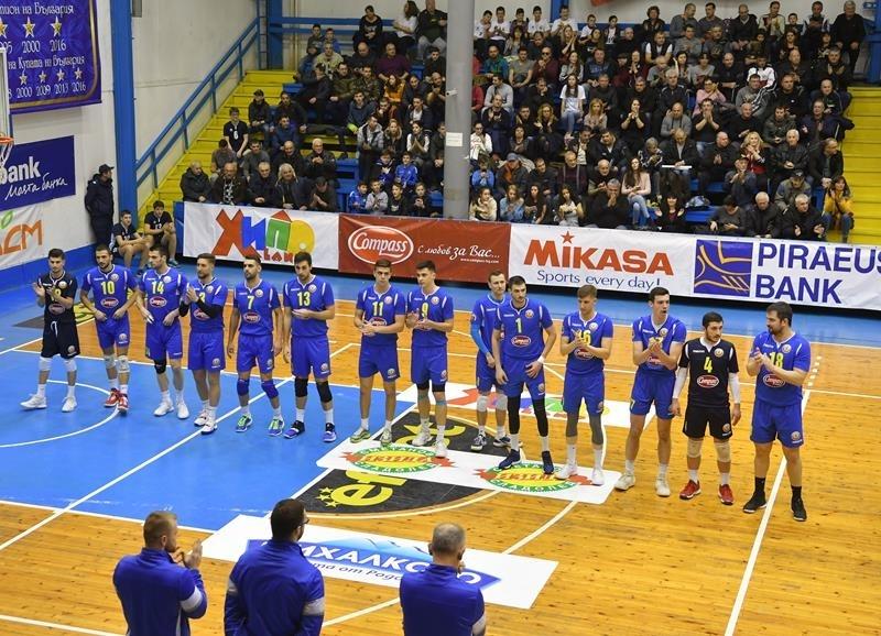 """""""Монтана"""" с четвърта поредна победа в Суперлигата"""