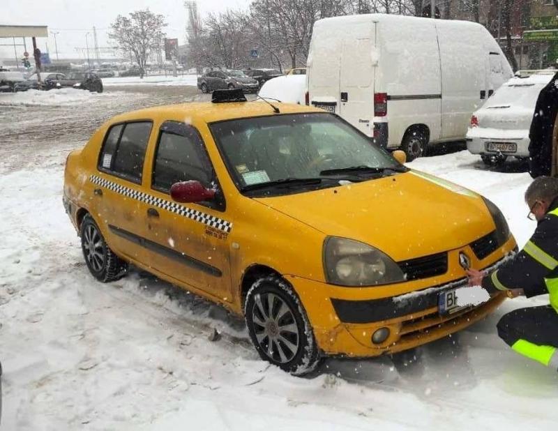 """Съвместна проверка на таксиметрови автомобили бе извършена от Звено """"Инспекторат"""""""