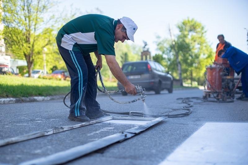 С цел подобряване на безопасността на движението, служители на Общинско