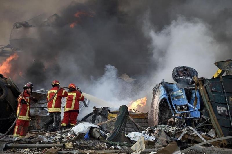 Най-малко 137 души загинаха при експлозията в Бейрут, съобщи телевизионният
