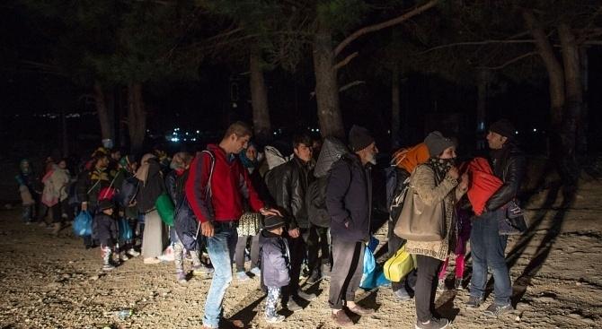 В Гърция се проведе акция срещу нелегално настанилите се мигранти