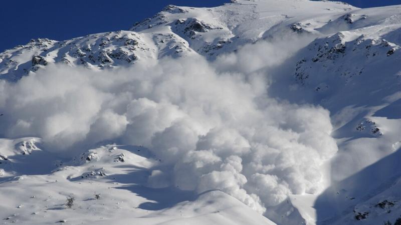 Лавината е паднала в масива Беладон във френските Алпи, в