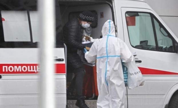 Броят на починалите хора, диагностицирани с Ковид-19, в Русия се