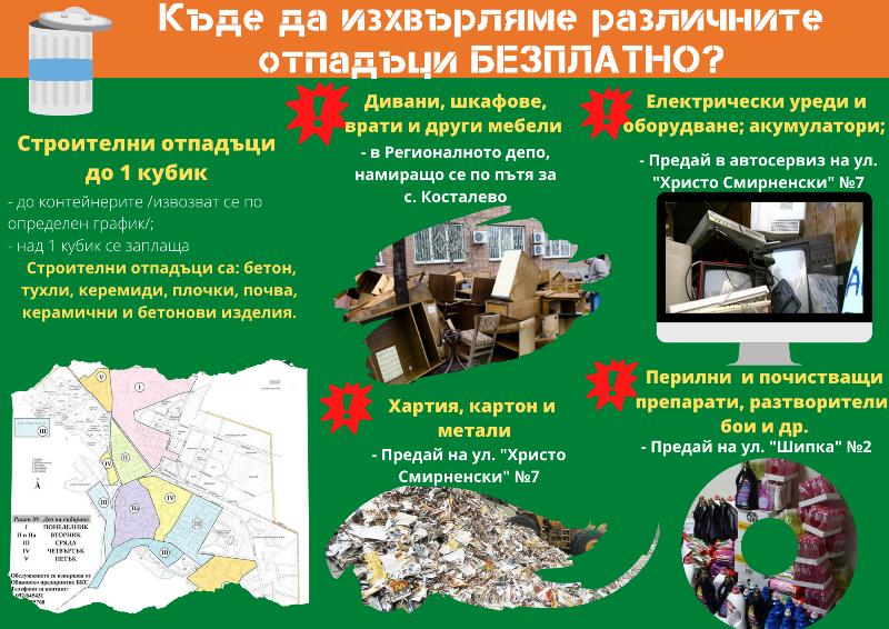 Община Враца и БКС стартират кампания, насочена към разделното събиране