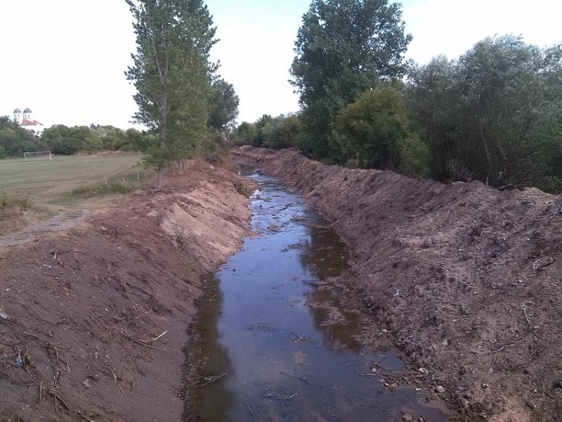 Снимка: След половин век: Река Вировска вече не застрашава Габровница