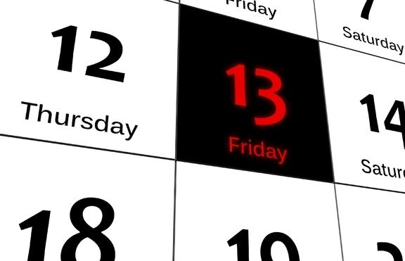 """Днес е петък 13-и. Сред хората е известен като """"черен"""
