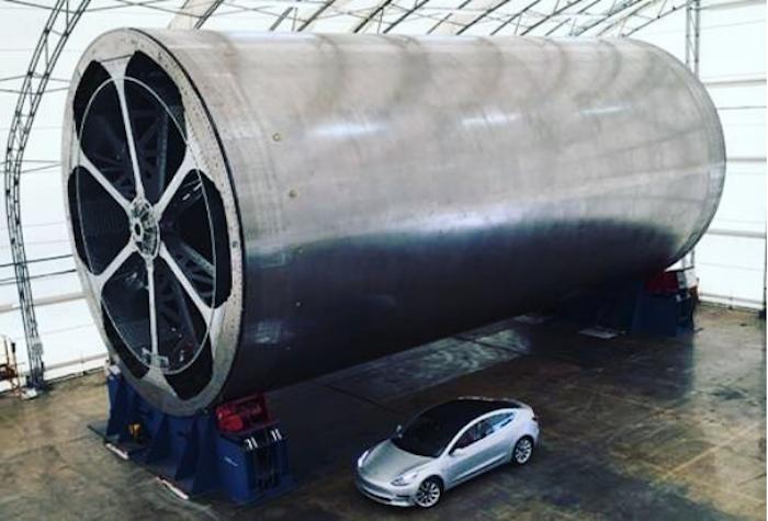 Илон Мъск представи част от конструкцията на бъдещата си междупланетната