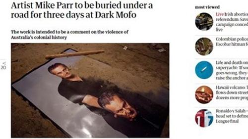 Австралийски пърформанс артист ще бъде заровен жив в контейнер под