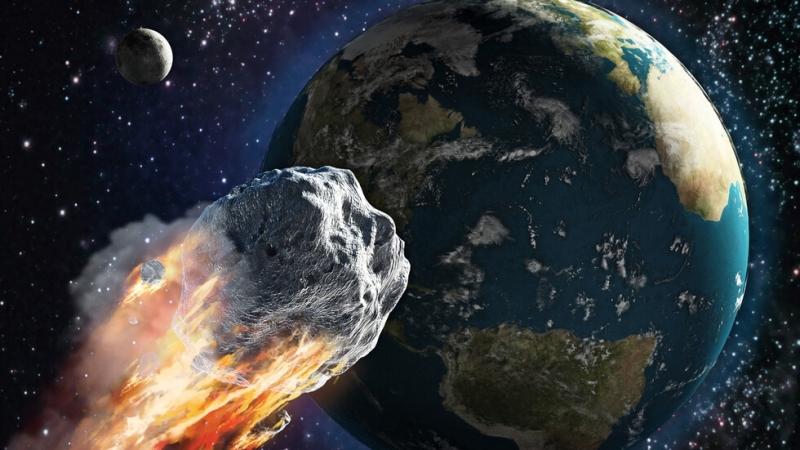 Най-големият астероид, преминаващ край Земята през 2021 г., се приближи