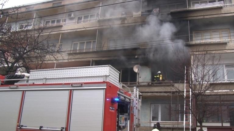 Пожар е горял в апартамент във Видин, съобщиха от областната